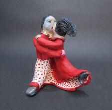 "MARIA MURGIA - ""Innamorati"" - Scultura in terracotta dipInta a mano"