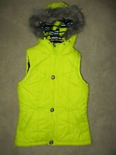 72adc753b30 BURTON Full Zip Hooded Snowboard Ski Puffer Vest - Women s S