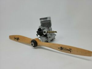OS MAX 60SR RC Airplane Engine Perry Carb JZ Zinger 13/8 propeller