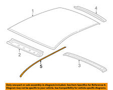 GM OEM-Roof Molding Trim Right 15827357