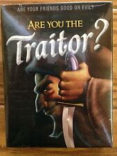 Are You the Traitor? A Deception Party Game from the makers of Fluxx