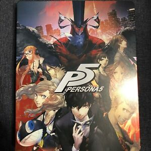 Persona 5 steelbook GEO Limited in Japan Steel book Only P5 Persona5 Used