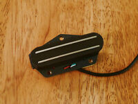 HOT DUAL RAIL BRIDGE PICKUP HIGH OUTPUT BLACK FOR TELECASTER