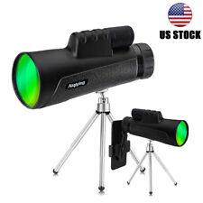 Monocular Telescope 10X50 HD Waterproof Tripod for Outdoor travel bird watching