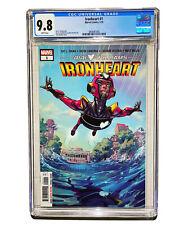 Ironheart 1 CGC 9.8 Riri Williams Black Panther 2 MCU