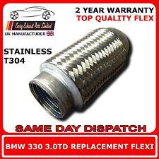 BMW 330 3.0td 2002-2007 Soldadura ESCAPE de Recambio cable flexible para