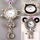 Wholesale Job Lot Eames Chic Animal Pendant Necklace Ladies Girls Crystal Watch