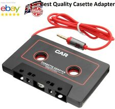 Car Cassette Casette Tape MP3 MP4 Player CD iPod iPhone 3.5mm AUX Audio Adapter