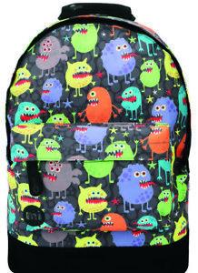 Mi-Pac Mini Monsters Black Kid's Backpack