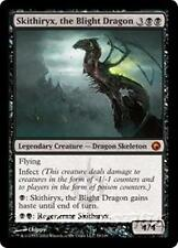 SKITHIRYX, THE BLIGHT DRAGON Scars of Mirrodin MTG Black  Creature—Dragon MYTHIC