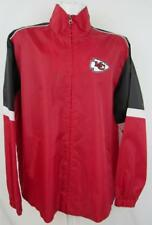 a772c070f Kansas City Chiefs Mens Size Large Full Zip Windbreaker Jacket AKAC 197