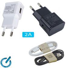 CARGADOR universal USB 2A para GPS MOVIL TABLET Charger USB sin o con cable