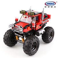 XingBao Spielzeug Modell Super Geländewagen Set Geschenk Bausteine Militär