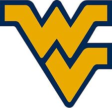 West Virginia Fflying Vw Vinyl DieCut Sticker Decal Logo Ncaa 4 Stickers