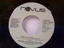 "AMINA CLAUDINE MYERS ""YES IT'S REAL / SAME"" 45 PROMO"