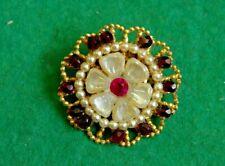Vintage beautiful brooch,retro decoration