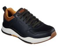 SKECHERS Men's Relaxed Fit: Benago - Treno Sporty Sneakers in Black