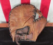 Vintage 1940s JC Higgins Leather Baseball Glove Basemans Mitt Babe Dahlgren