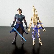 Star Wars Clone Wars Anakin Skywalker & Battle Droid 2009 B'omarr Monestary