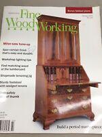 Taunton Fine Wood Working Magazine Vintage February 2002 Home Building Hardware