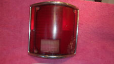 1973-1987 CHEVROLET PICK UP C/K GENUINE GM RIGHT TAILLIGHT LENS FREE SHIPPING