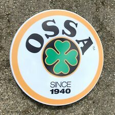 OSSA TRIAL BIKE MOTORCYCLE LED ILLUMINATED WALL LIGHT SIGN GARAGE AUTOMOBILIA