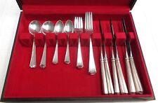 gorham fairfax pattern silverware sterling silver set