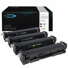 4 Toner kompatibel zu HP 201X CF400X-403X | LaserJet Pro MFP M277 270 Pro M252