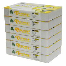 6 PACK TREEFROG FRESH BOX (aka XTREME FRESH) LEMON CAR AIR FRESHENER TRLE52
