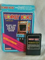 DONKEY KONG -- for INTELLIVISION Video Game System