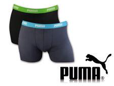 Puma 2er Pack Jungen Boxershorts Unterwäsche Gr. 134-140 schwarz/carbon (376)