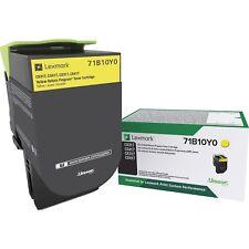 Lexmark 71B10Y0 Cs317 Cs417 Cs517 Cx317 Cx417 Cx517 Yellow Return Program Toner