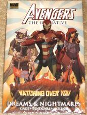 Marvel Premi Ed Avengers Initiative Dreams Nightmares Hb Tpb Shrink Wrapped