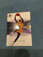 2004-05 SP Authentic Los Angeles Lakers Basketball Card #38 Kobe Bryant