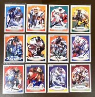 MIKE ROZIER Houston Oilers 1990 Fleer SIGNED / AUTOGRAPH Football Card