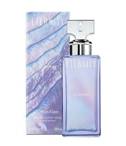 Calvin Klein Eternity SUMMER 2013 Eau De Parfum 3.4 Oz Spray EDP NEW Sealed