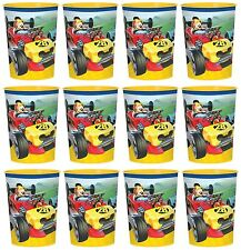 Mickey Mouse Roadsters REUSABLE KEEPSAKE CUPS (12) Birthday Party Supplies