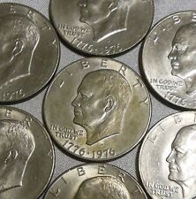 ONE United Stated Dollar 1776 1976 Large Size US Ike Bicentennial 1 Dollar Coin