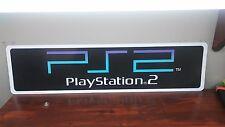 """PS2 Logo Aluminum sign  6 x 24"""""""