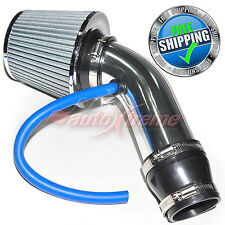 Universal COMPLETE COLD AIR INTAKE Induction KIT HOSE System & JDM Filter CHROME