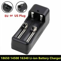 Universal 18650 Battery Charger Short Circuit Protection LED Light Indication