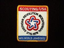 BOY SCOUT    14TH WORLD JAMBOREE  USA CONTINGENT PP