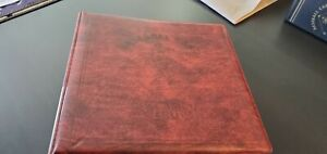 """Baseball Card Album Maroon 3"""" - With BCW Pages, No Cards"""