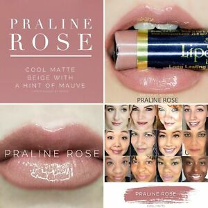 """NEW Authentic LipSense Liquid Lipsticks """"Praline Rose"""" .25 fl oz/7.393 mL"""