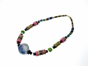 Collier African Beads Ethnic Sautoir Fancy Gg