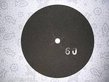 5x Schleifpapier 385 mm / Einscheibenmaschine / Korn 60