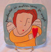 Grandmother is Another Name for Angel Wall Plaque Sandra Magsamen Heart New