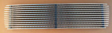 Porsche 69 911 912 3 Bar Aluminum Engine Lid Deck Lid Grille Polished/Black-New