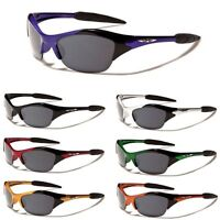 X-loop Half Frame KIDS Boys Girls AGE 3-12 Cycling Baseball Sport Sunglasses