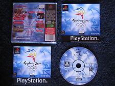 SYDNEY 2000 : JEU Sony PLAYSTATION PS1 PS2 (J.O. / Jeux olympiques COMPLET)